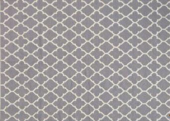 "VIG Linie Design Adelyn Grey Wool Rug Large: 8'3"" x 11'6"""
