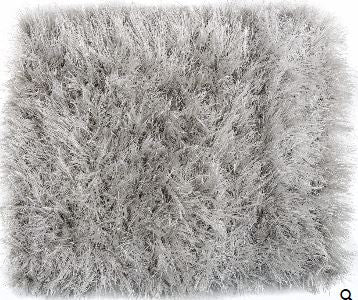 "VIG Modrest Sitka by Linie Design Modern Light Grey Small Area Rug W94.5"" x D67"" (5.5' x 8')"