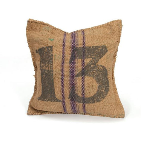 Go Home Vintage Sack Pillow # 13