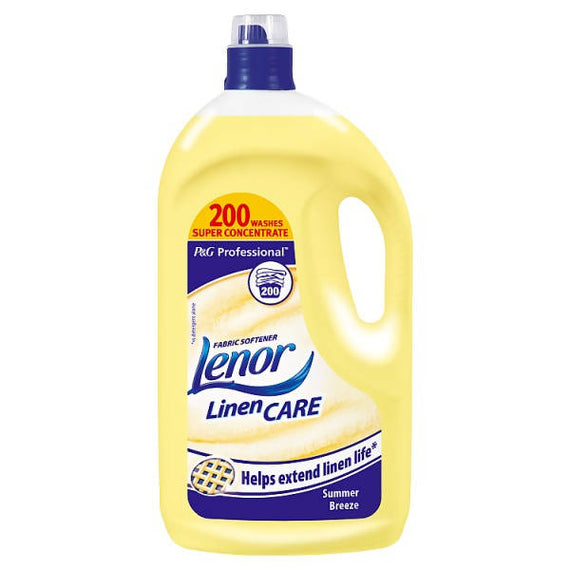 Lenor Professional Fabric Conditioner Summer Breeze 4L 200 wash