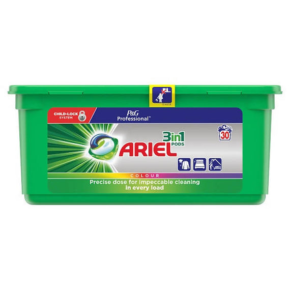Ariel 3in1 Pods Washing Liquid Capsules Color 3 x 30 Washes