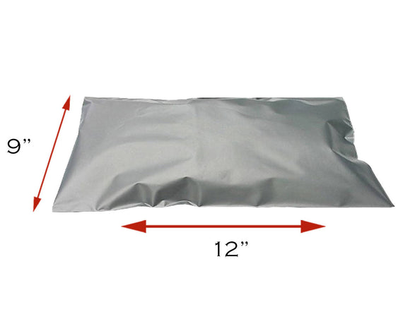 "BubblePost - 500 x Grey Postal Mailing Bags (9"" x 12"")"