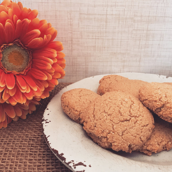 Sweet as Sugar Cookies (Gluten-Free, Dairy-Free, Vegan and Paleo Friendly) 6 Cookies