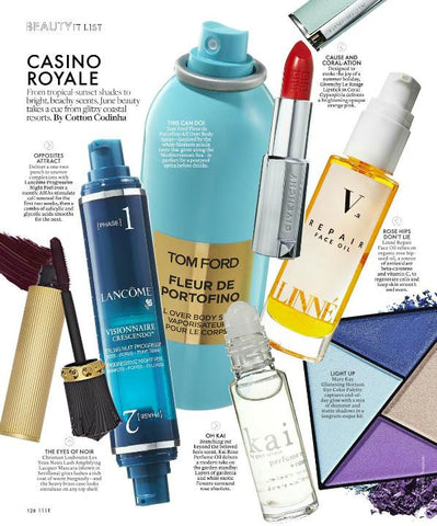 June Elle Magazine Beauty It list