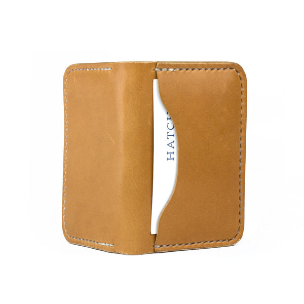 Leather 3 Pocket Wallet