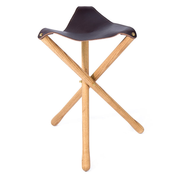 Camp Stool - Dark Brown