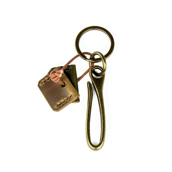 Ash Brass Key Hook