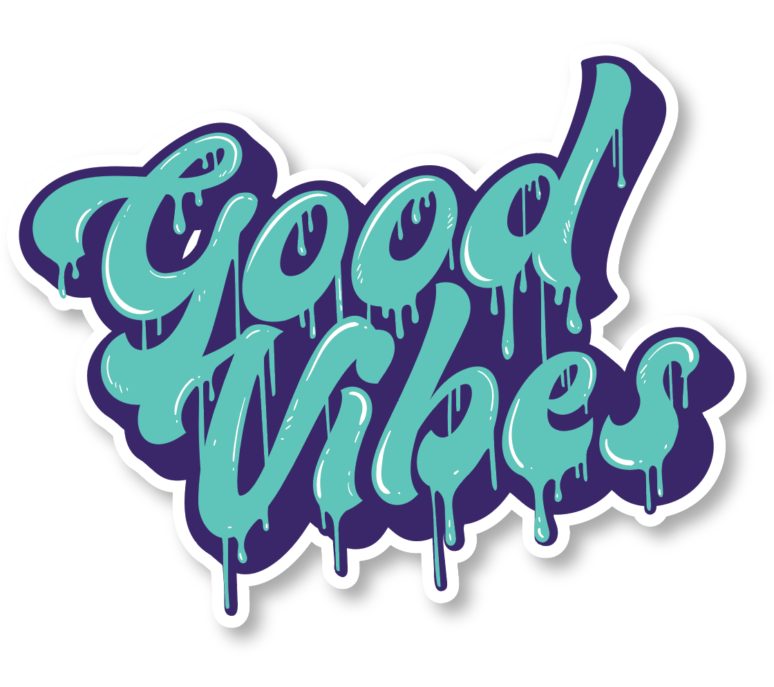 "Good Vibes Drip (2 Pack) (5"" and 3"")"