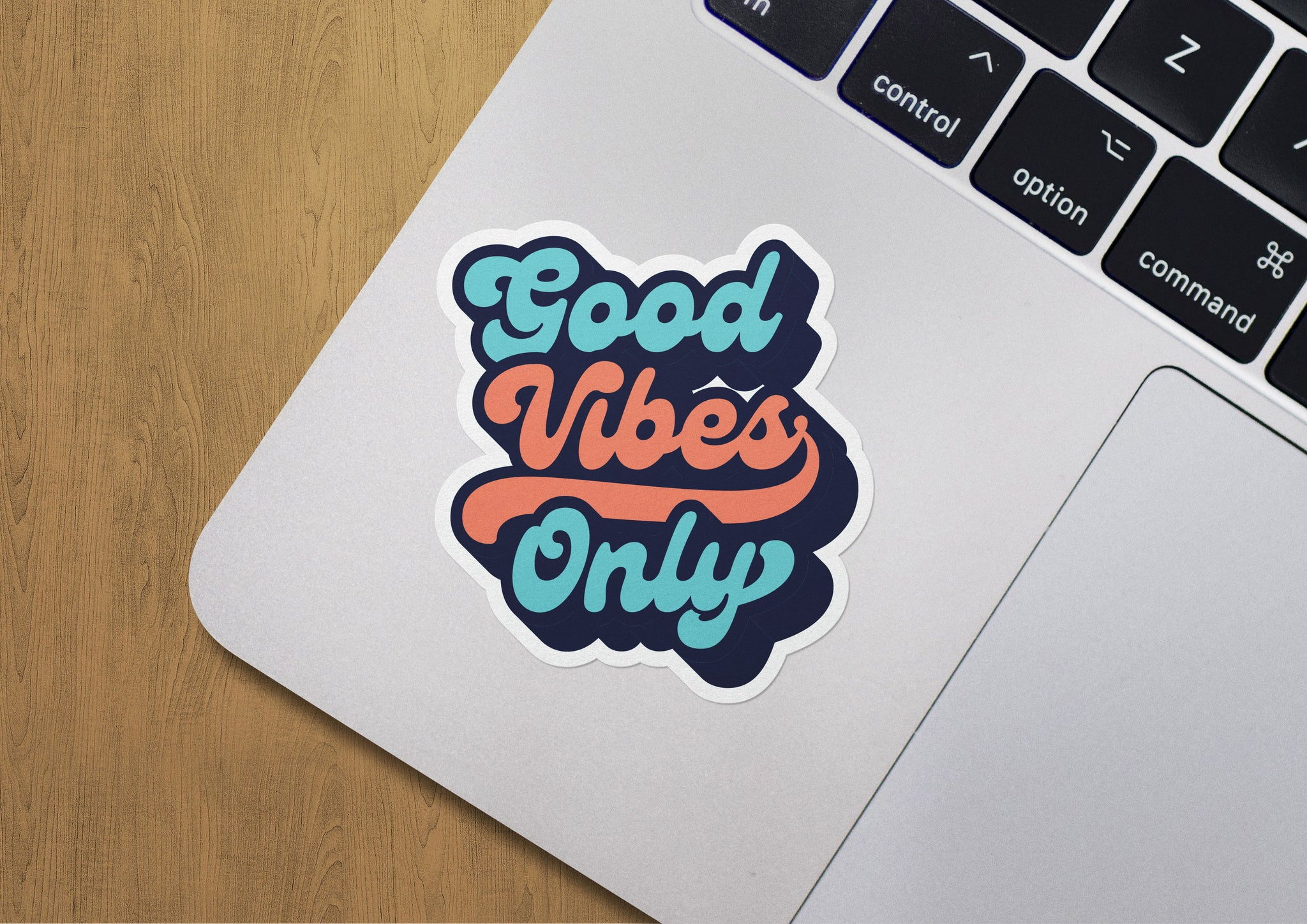 "Good Vibes Only Decals (2 Pack) (5"" and 3"")"