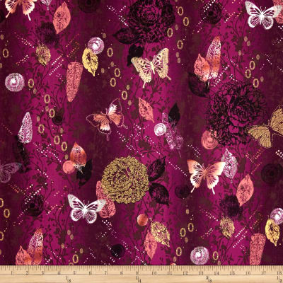 Custom Order Red Paisley and Butterflies - Lifetime Sensory Solutions