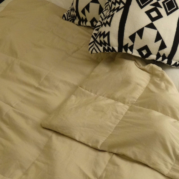 King Newsprint Weighted Blanket - Lifetime Sensory Solutions