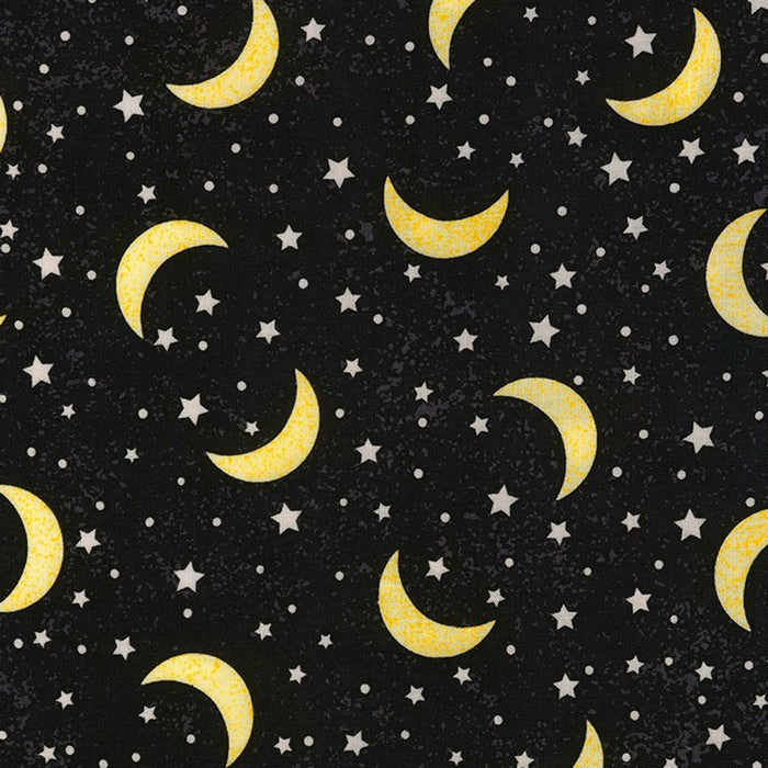 5 Foot Twin Yellow Moon and Stars - Lifetime Sensory Solutions
