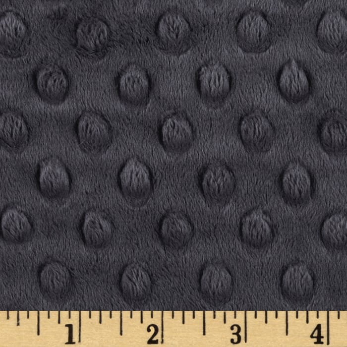 Dark Grey Minky backing for 6 foot twin blanket - Lifetime Sensory Solutions