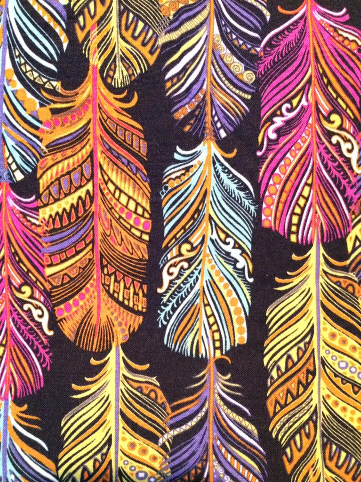 Jewel Feathers Travel Blanket - Lifetime Sensory Solutions