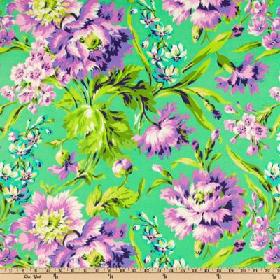 5 Foot Twin Emerald Floral - Lifetime Sensory Solutions