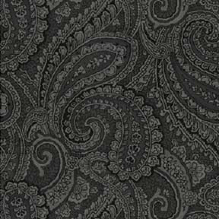 Black Paisley Full Size Weighted Blanket - Lifetime Sensory Solutions