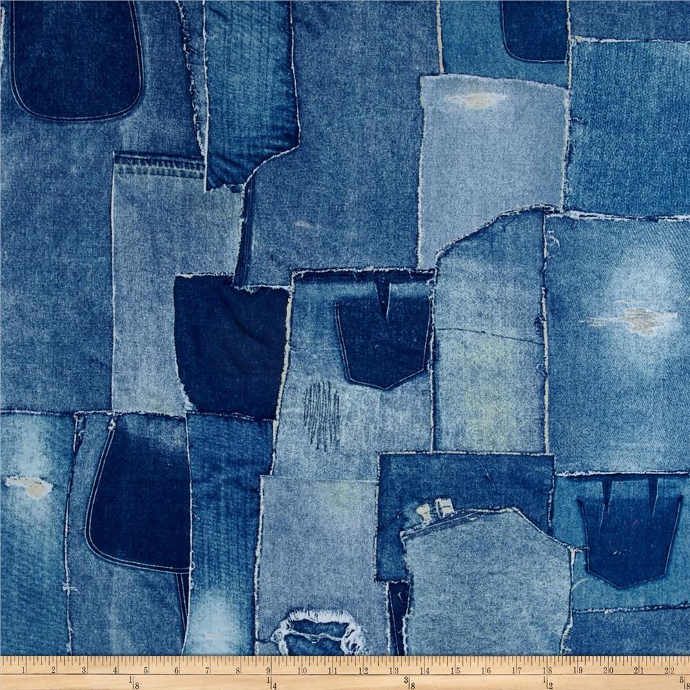 Denim print weighted blanket queen denim print weighted blanket nvjuhfo Image collections