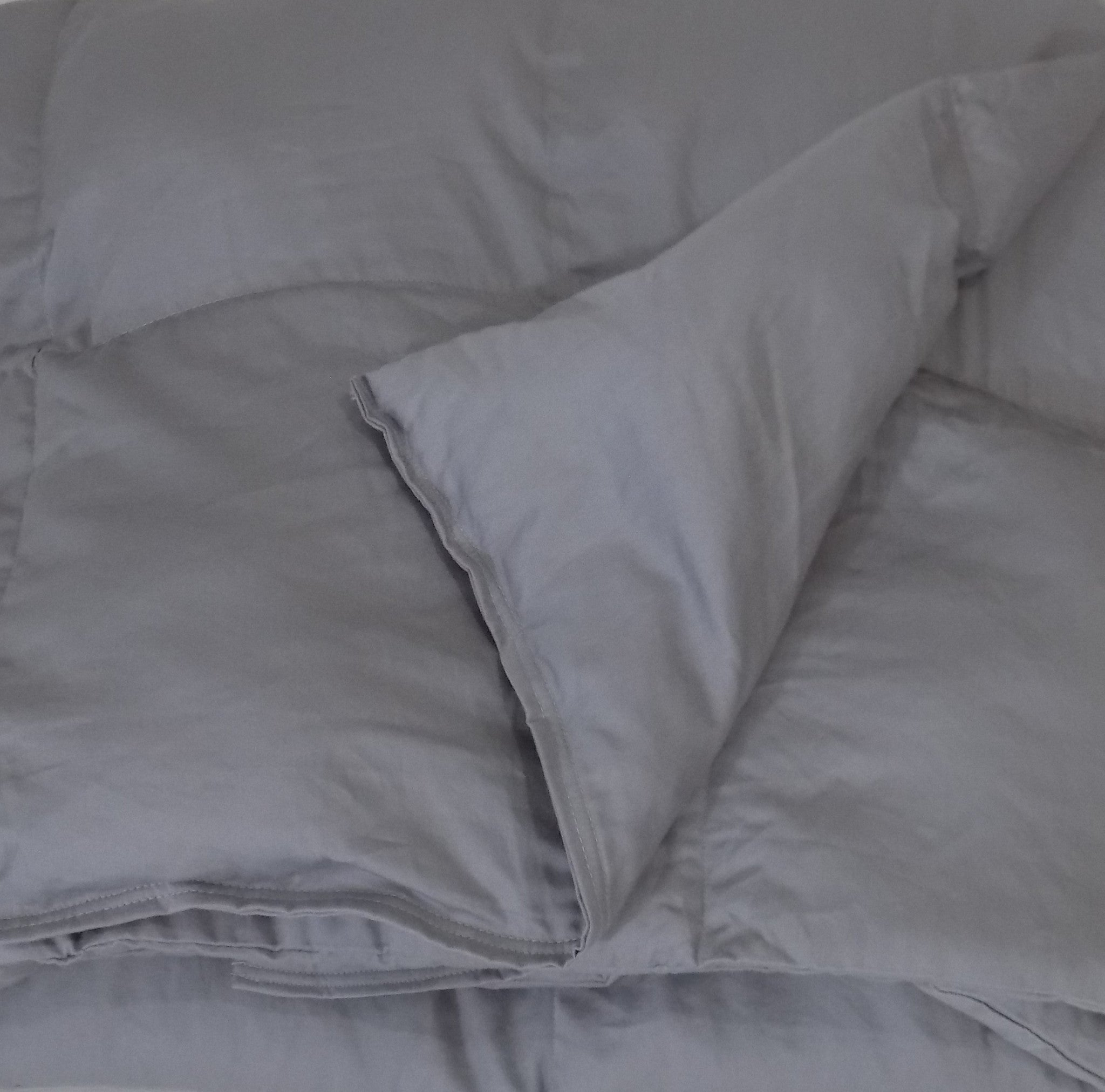Full size cotton sateen weighted blanket full size cotton sateen weighted blanket lifetime sensory solutions 1 nvjuhfo Image collections