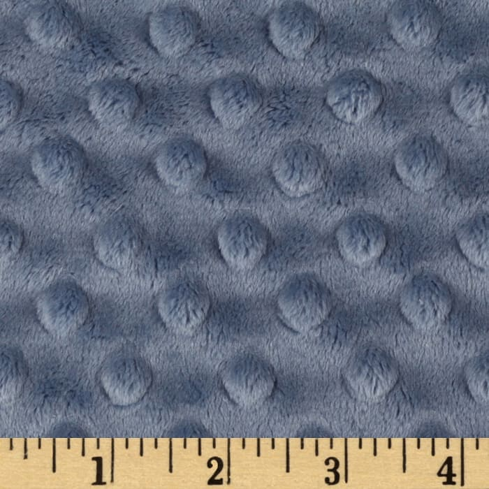 Light Grey Minky backing for 6 foot twin blanket - Lifetime Sensory Solutions