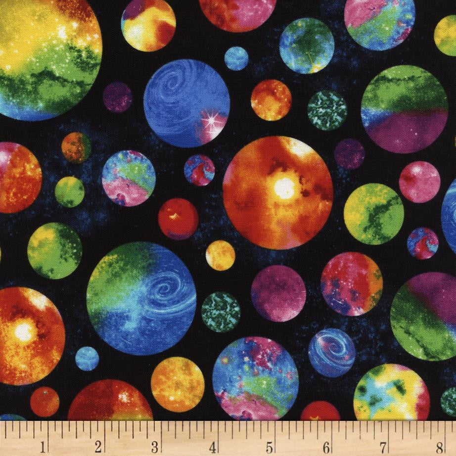 6 Foot Twin Multi Colored Planets - Lifetime Sensory Solutions