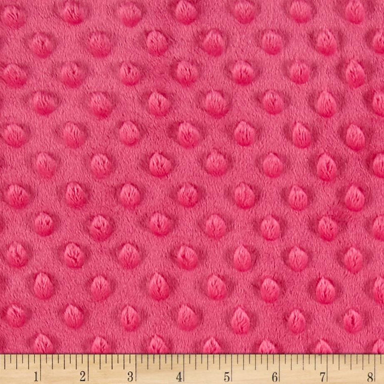 Pink Minky backing for 5 foot twin blanket - Lifetime Sensory Solutions