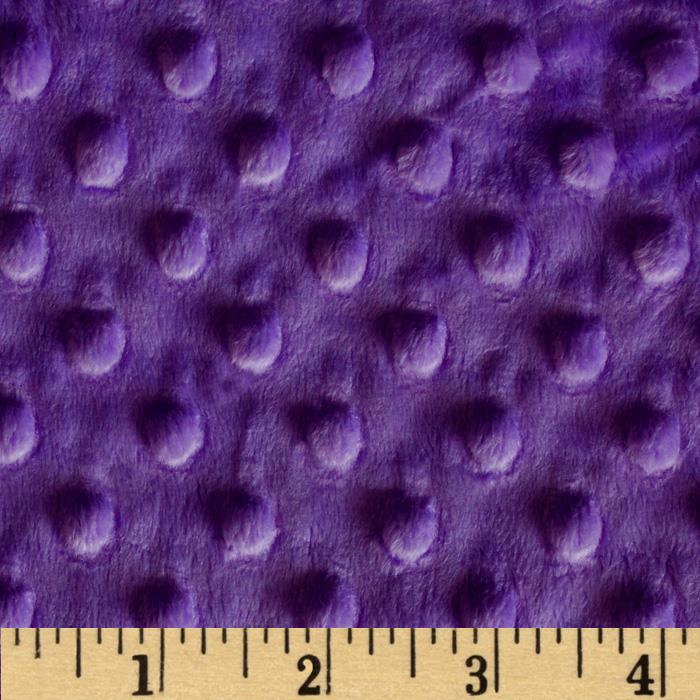 Purple Minky backing for 5 foot twin blanket - Lifetime Sensory Solutions