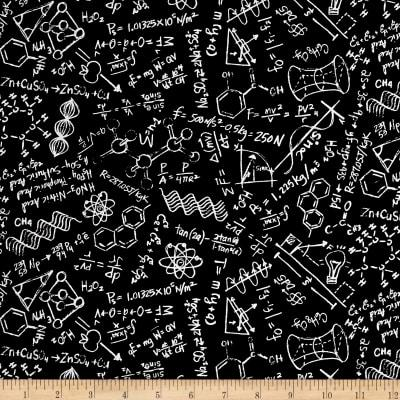 Science Chalkboard Travel Blanket - Lifetime Sensory Solutions