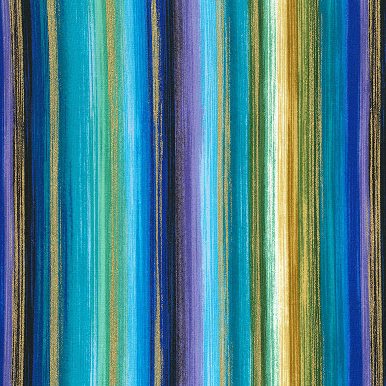 5 Foot Twin Watercolor Stripe - Lifetime Sensory Solutions