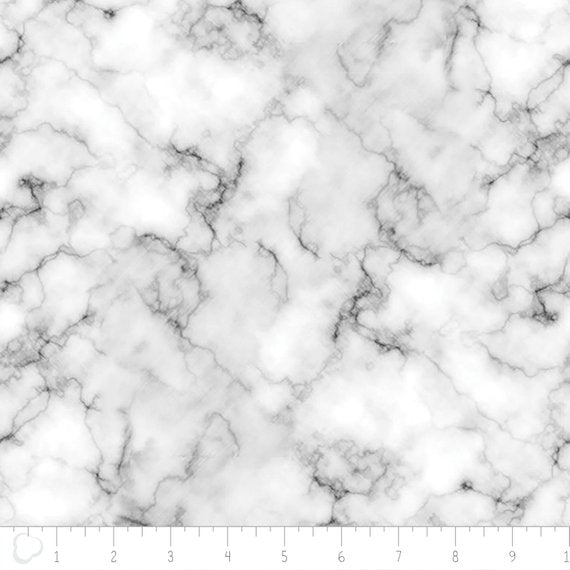 6 Foot Twin White Marble - Lifetime Sensory Solutions