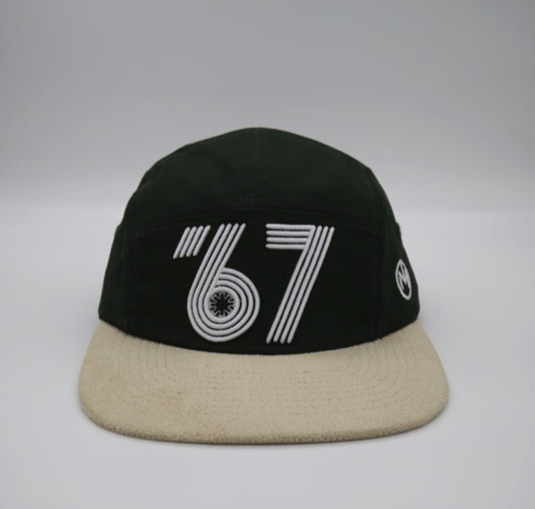 Vintage Expo '67 5 Panels (Green)