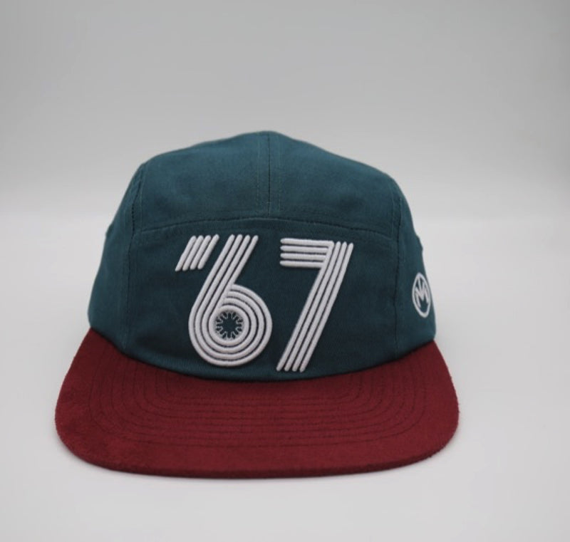 Vintage Expo '67 5 Panels (Blue)