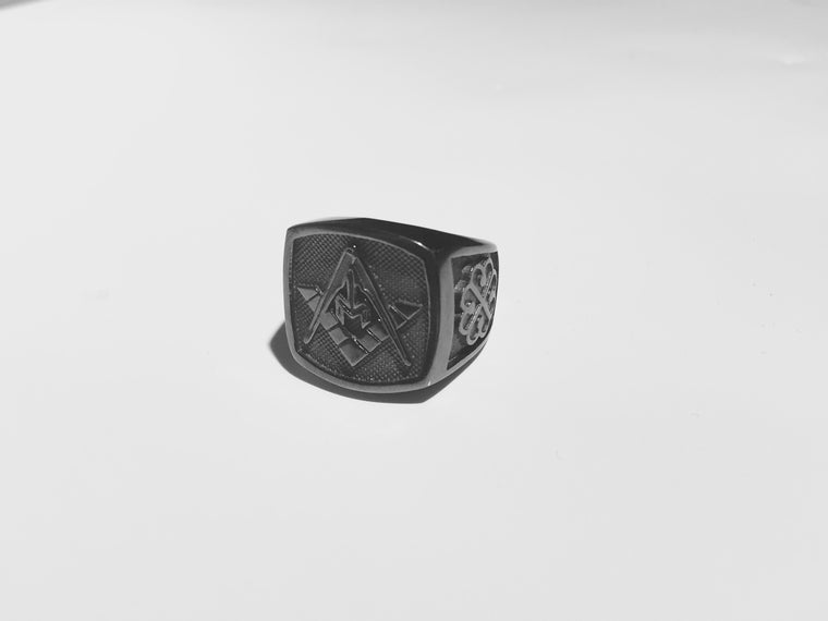 Masonik Ring (Black)