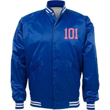 Blueberry Pink Bubblegum Cake 101 Bomber Jacket