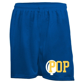 Blueberry Banana Pop Bubblegum Mesh Shorts