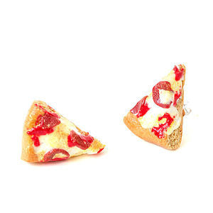 Junk Food Pizza Earrings
