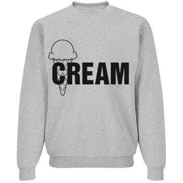 Grey Blackberry Ice Cream Jumper