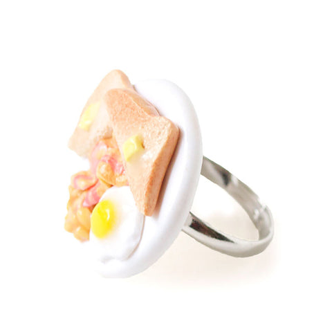 Full English Breakfast Plate Ring