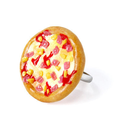 Junk Food Hawaiian Pizza Ring