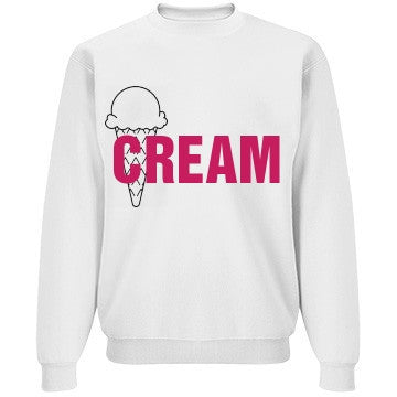 Vanilla & Raspberry Ice Cream Jumper