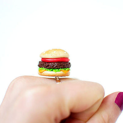Junk Food Cheeseburger Ring