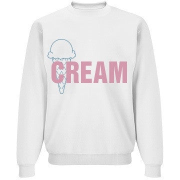 Vanilla Blueberry Pink Bubblegum Ice Cream Jumper