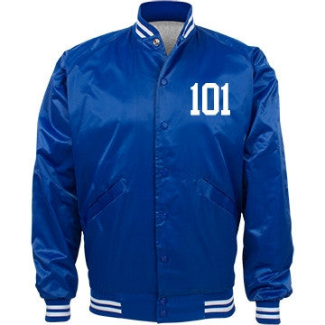 Blueberry Vanilla Cake 101 Bomber Jacket