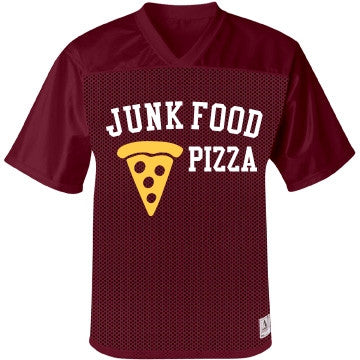 Junk Food Cheese & Tomato BBQ Pizza Jersey