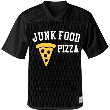 Junk Food Black Olive Cheese & Tomato  Pizza Jersey