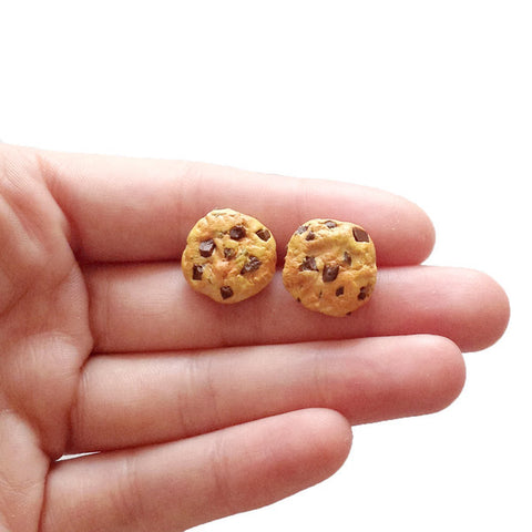 Scented Chocolate Chip Earrings