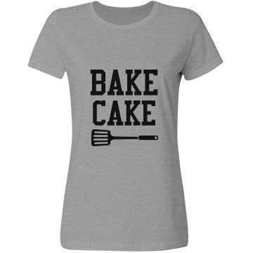 Smoke Grey Bake Cake T-Shirt