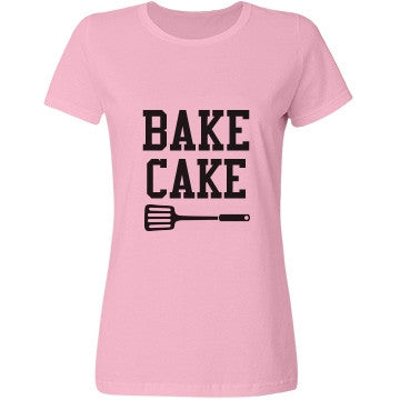 Baby Pink Bubblegum Bake Cake T-Shirt - Candy Clothing