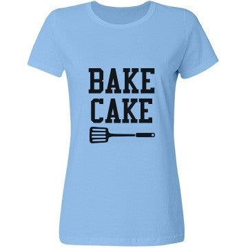 Baby Blue Bubblegum Bake Cake T-Shirt