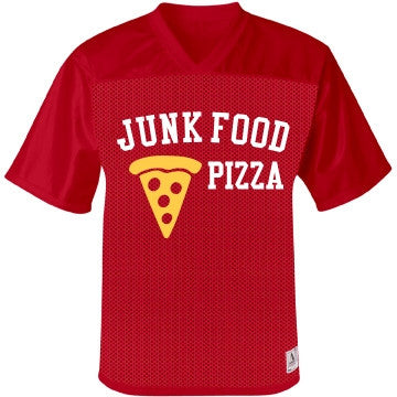 Junk Food Cheese & Tomato Ketchup Pizza Jersey