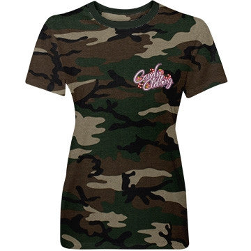 Candy Clothing Camo Military T-Shirt